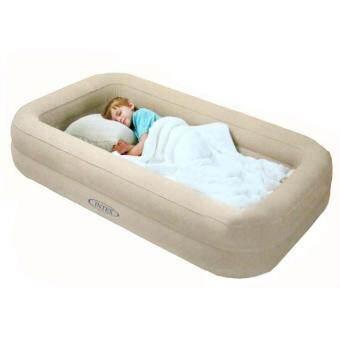 เตียงนอนเด็กเป่าลม Kidz Travel bed set Intex 66810