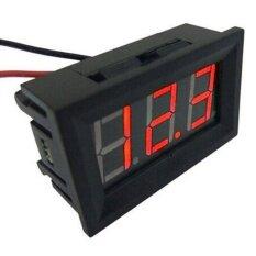 Mini 0.36in Dc 2.4 โวลต์ - 30 โวลต์ 2 สาย Led จอแสดงผลดิจิตอลเครื่องวัดแรงดันไฟฟ้าแบตเตอรี - Intl.