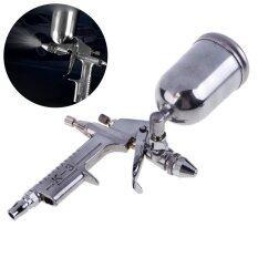 ซื้อ Mini Air Paint Spray Gun Sprayer 5Mm Nozzle Airbrush Alloy Painting Tool Intl ถูก ใน จีน
