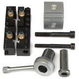 ซื้อ Mini Quick Change Tool Post Holder Kit Set For 7 X10 12 14 Multifix Toolholder ออนไลน์