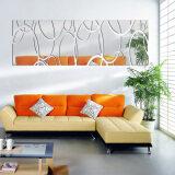 ซื้อ Mirror Acrylic Diy Mirror Sticker Watch 3D Wall Stickers Home Decoration Unbranded Generic เป็นต้นฉบับ
