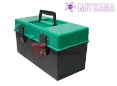 ส่วนลด Mitsana กล่องเครื่องมือ 2 ชั้น พลาสติก สีเหลือง ขนาด 15X36X15 Cm Mitsana