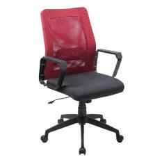 Modena เก้าอี้สำนักงาน มีล้อ รุ่น Iko สีดำ แดง ถูก
