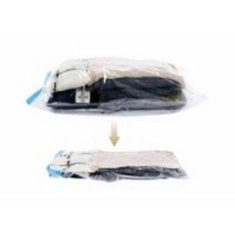ถุงสูญญากาศสำหรับจัดเก็บเสื้อผ้า More Closet Space (ซื้อ 1 แถม 1 )