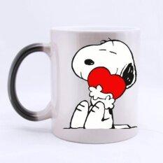 ซื้อ Morphing Mugs Heat Reveal Ceramic Coffee Mug 11 Ounce(320Ml) Intl Weimei ถูก