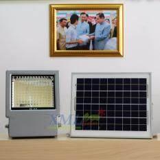 ซื้อ Most Solar ไฟสปอตไลท์โซล่าเซลล์ 108 Led โคมเทา เเสง ขาว Xml Solar