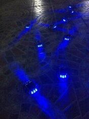 ขาย Most Solar ไฟหมุดถนน โซล่าเซลล์ 6 Led เเสง สีน้ำเงินกระพริบ ถูก
