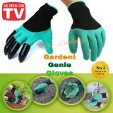 Mr Gadget ถุงมือขุดดิน ทำสวน ถุงมือ การเกษตร ช่วยงานสวน พรวนดิน อเนกประสงค์ ป้องกันแมลงกัด Garden Genie Gloves เป็นต้นฉบับ