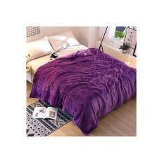 ขาย Msm 003 ผ้าห่มนาโน ขนาด 6 ฟุต สีม่วง ใหม่