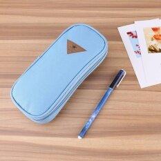 ขาย ผ้าใบอเนกประสงค์ดินสอปากกาขนาดใหญ่กล่องใส่เครื่องเขียนกระเป๋าใส่เครื่องสำอางค์ เป็นต้นฉบับ
