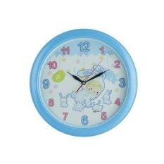 ทบทวน ที่สุด Nanapan Shop นาฬิกาแขวนผนัง ตกแต่งบ้าน ขนาด 13 นิ้ว สีฟ้า