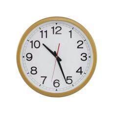 ราคา Nanapan Shop นาฬิกาแขวนผนัง ตกแต่งบ้าน ขนาด 16 นิ้ว สีทอง Nanapan Shop