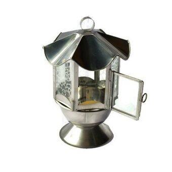 Nanapan Shop ตะเกียงบูชาน้ำมัน รุ่น ตะเกียงบูชาน้ำมันสูง40ซม.สแตนเลสแท้