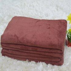 ขาย Nanoผ้าเช็ดตัวอาบน้ำ นาโน ขนาด 74X147 ซม รุ่น M24 095 สีน้ำตาล 6 ผืน Nano