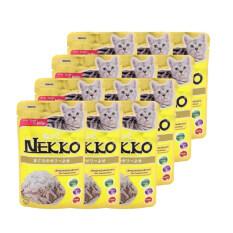 ราคา Nekko อาหารเปียกแมว รสปลาทูน่า หน้าปลาข้าวสาร 70G 12 Units เป็นต้นฉบับ