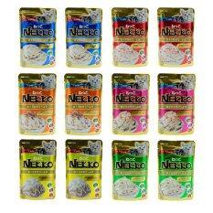 ซื้อ Nekko Mix Set อาหารแมวเน็กโกะ คละรส6รส X รสละ2ซอง รวม12ซอง ออนไลน์ กรุงเทพมหานคร