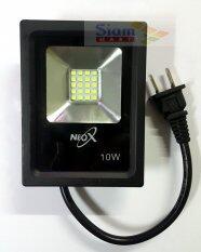 ราคา Neox โคมสปอร์ตไลท์ โคมไฟฟลัดไลท์ Led 10W 220V แสงขาว เดย์ไลท์ 6500K เป็นต้นฉบับ Neox