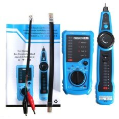 ส่วนลด Network Lan Ethernet Phone Telephone Cable Tester Wire Tracker Rj45 Rj11 Finder Intl