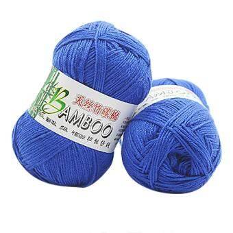 New 100% Bamboo Cotton Warm Soft Natural Knitting Crochet Knitwear Wool Yarn 50g - intl