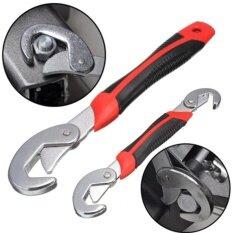 ราคา New 2Pcs Multi Function Universal Quick Snap N Grip Adjustable Wrench Spanner Intl ใหม่ ถูก