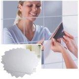ราคา New 3D Mirror Wall Mirror Wall Geometry Trade Acrylic Decoration Room Mid Intl