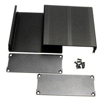 ถูกที่สุดในวันนี้ ใหม่กล่องเอ็นโคลเซอร์อะลูมิเนียมกรณีงานอิเล็กทรอนิกส์ DIY สีดำ 100*97*40 มิลลิเมตร (L * W * H) - INTL buy - มีเพียง ฿238.00