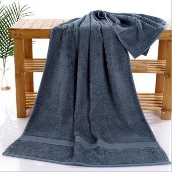 New arrival Anti-bacterial bamboo bath towels for adults drap de bain 70*140cm large men beach towel gift towel Free shipping - intl