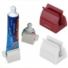 ใหม่มาถึงชุดอุปกรณ์เสริมของโรลลิ่งสหลอดฟันแปะ Squeezer ยาสีฟัน + แปรงสีฟันผู้ถือแปรงสีฟัน - นานาชาติ.