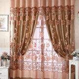 ราคา New Floral Tulle Voile Door Window Curtain Coffee Vakind จีน