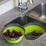 ขาย ซื้อ New Food Grade Trp Pp Material Kitchen Collapsible Colander Fruit Vegetable Strainer Drainer Kitchen Accessories Tools Intl