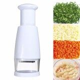 ทบทวน New Kitchen Pressing Slicer Peeler Vegetable Garlic Onion Food Chopper Cutter Intl