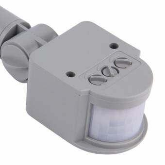 ความปลอดภัยใหม่ PIR อินฟราเรด PIR Motion Sensor เครื่องตรวจจับกลางแจ้ง   โคมไฟติดผนัง-