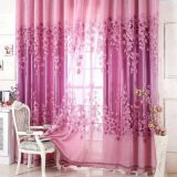 ขาย New Sheer Curtain Panel Drape Floral Window Balcony Room Purple ถูก