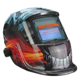 ใหม่หมวกกันน็อกเชื่อมต่อพลังงานแสงอาทิตย์อัตโนมัติมืด TIG MIG เชื่อมเครื่องเชื่อมหน้ากากเลนส์-นานาชาติ