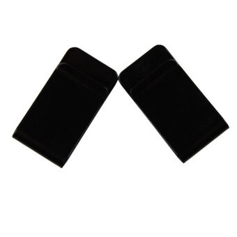 New Stainless Steel Black Slim Pocket Purse Money Clip Holder 1PCS
