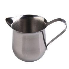 ขาย New Stainless Steel Coffee Shop Small Milk Cream Waist Shape Cup Jug 5Oz Intl ถูก