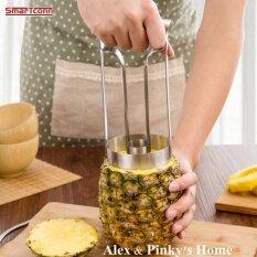 สไตล์ใหม่ผลไม้สแตนเลสเครื่องตัดสับปะรด Peeler เครื่องมือตัดสำหรับห้องครัวที่ปลอกสับปะรด - Intl By Smartonn.