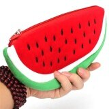 Newest Practical Big Volume Watermelon Fruit Kids Pen Pencil Bag Case Gift Cosmetics Purse Wallet Holder Pouch Sch**l Supplies Intl ใหม่ล่าสุด