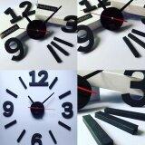 ซื้อ นาฬิกาติดผนังแบบโมเดร์น Nhooling Diy Clock สีดำ ออนไลน์ Thailand