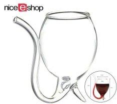 ซื้อ Niceeshop ครีเอทีฟ 300 มล แวมไพร์ดูดเลือดใส่แก้วไวน์แก้ววิสกี้กับเหล้าหลอดฟาง เคลียร์ ใหม่