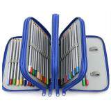 ขาย Niceeshophandy Wareable Oxford Pencil Case For Colored Pencils 72 Slot Pencil Holder Blue Niceeshop เป็นต้นฉบับ