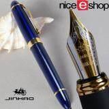 ราคา Niceeshop ลัก Jinhao M ปลาย 18Kgp ปากกาหมึกซึม Kurve สีน้ำเงิน ใหม่