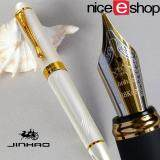 ขาย Niceeshop Luxury Jinhao M Nib 18Kgp Fountain Pen Kurve Silver Jinhao ใน จีน