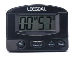 โปรโมชั่น Niceeshop Mini Lcd Home Kitchen Cooking Count Down Digital Timer Alarm With Stand Black Niceeshop