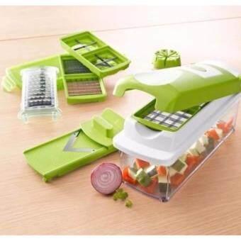 ชุดอุปกรณ์หั่นผักผลไม้ Nicer Dicer Plus เครื่องหั่นผักผลไม้ เครื่องสไลด์ผักผลไม้ ชุดสไลซ์ผักผลไม้อัจฉริยะ