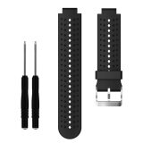 Noonbof Soft Silicone Sport Style Replacement Smart Watch Band Strap With Pin Removal Tools For Garmin Forerunner 220 230 235 620 630 735 Intl ถูก
