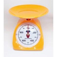 ซื้อ Nops เครื่องชั่งน้ำหนักในครัว ตาชั่งเล็กสีส้ม ตราชั่งในครัวขนาด1กิโลกรัม เครื่องชั่งน้ำหนักอาหาร เครื่องชั่งเบเกอรี่ Orange Kitchen Scales 1Kg Unbranded Generic เป็นต้นฉบับ