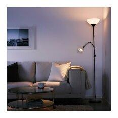 Not โคมไฟตั้งพื้น/อ่านหนังสือ Floor Uplighter/reading Lamp สูง 174 Cm (ขาว-ดำ).