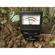 ราคา ประกัน6เดือน วัดค่าปุ๋ย Npk โดยรวม เครื่องวัด กรด ด่าง ปุ๋ย Phของดิน Ph Meter เป็นต้นฉบับ H2Otester