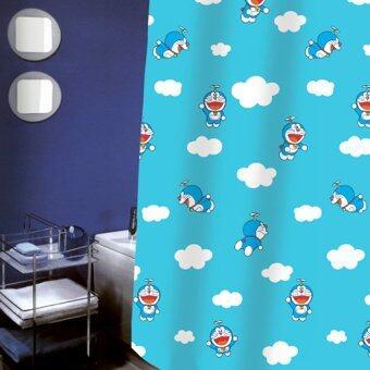 ม่านห้องน้ำ NYLON ลาย Doraemon - รุ่น SCP-43 / DN 006